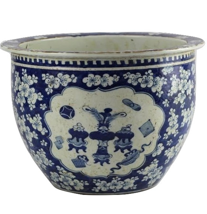 Blue and White porcelain from The Enchanted Home